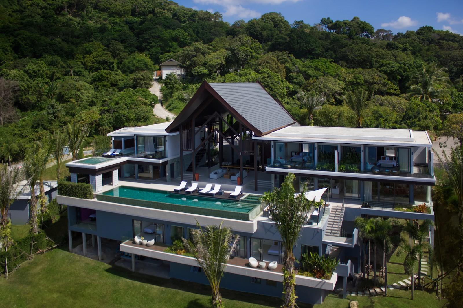 Villa Saan Rental 8 Bedrooms In Villas Kamala Villas